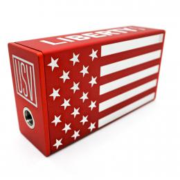 USV-L 75w BOX MOD AMERICAN FLAG RED