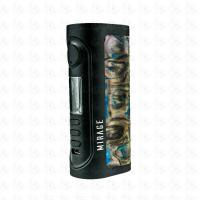 LOST VAPE MIRAGE DNA75C MOD BLACK/GREEN AGATE
